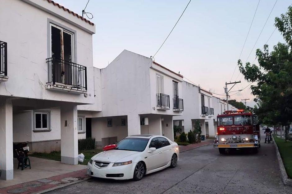 Los agentes encontraron marihuana seca en la calle principal y dentro de la vivienda (Foto: mjcastellanos)
