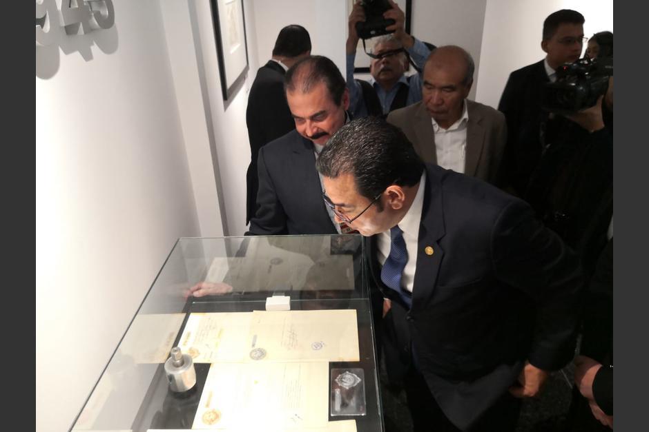 En el museo se exponen varios sellos postales y fiscales. (Foto: José Miguel Castañeda/Soy502)