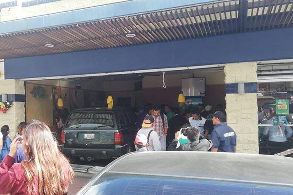 En el se reportan varias personas heridas. (Foto: Somos Ciudad San Cristóbal/Facebook)