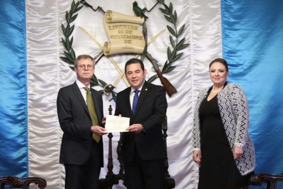 El nuevo embajador ha ocupado varios cargos diplomáticos en China. (Foto: Gobierno de Guatemala)