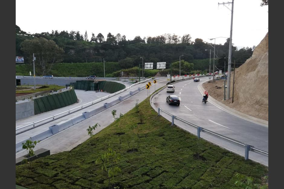Se trata del tercer paso a desnivel que se habilita en 2019. (Foto: Municipalidad de Guatemala)