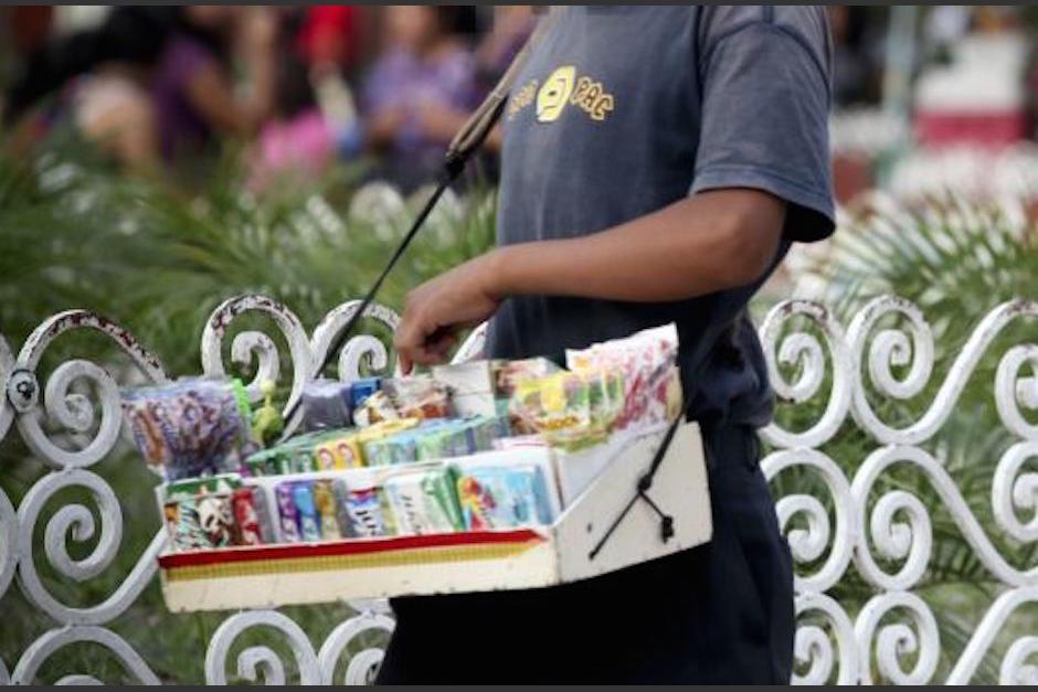 Los niños que se dedican a vender dulces corren peligro en las calles. (Foto: Ilustrativa)