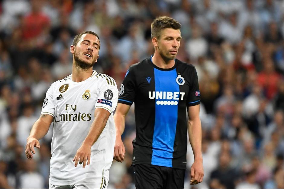 Real Madrid no pudo contra el Brujas de Bélgica. (Foto: AFP)