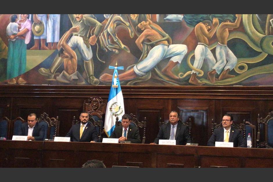 La comisión tiene contemplado recibir denuncias contra la CICIG. (Foto: cortesía José Castro)
