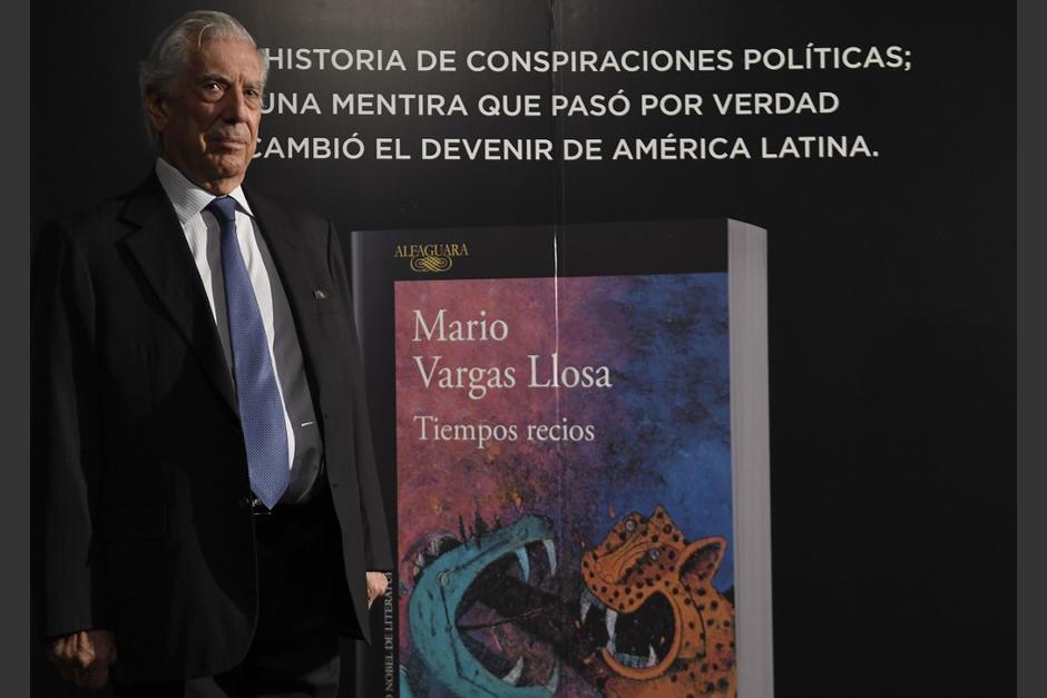 El escritor llegará a Guatemala el 3 de diciembre. Descubre cómo puedes asistir al evento. (Foto: AFP)