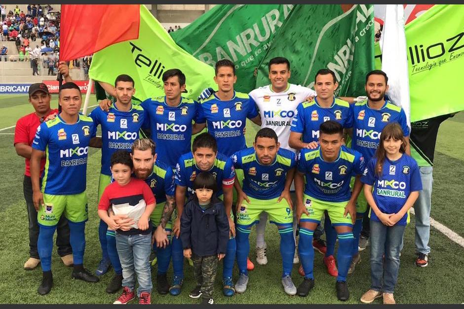 Deportivo Mixco solo ha ganado un partido en el torneo y se encuentra en los últimos lugares. (Foto: Mixco)