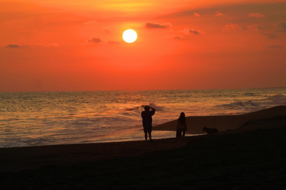 Los atardeceres en Monterrico y Hawaii son espectaculares. (Foto: Cortesía Inguat)
