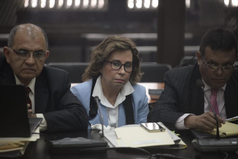 Sandra Torres, excandidata de la UNE, enfrenta audiencia de primera declaración. (Foto: Wilder López/Soy502)