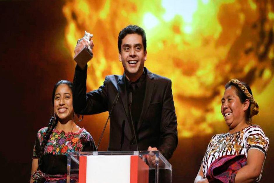 """Bustamante, quien también dirigió la filme de Ixcanul, recibió el homenaje """"por su trabajo y entrega"""" (Foto ilustrativa: El Heraldo)"""