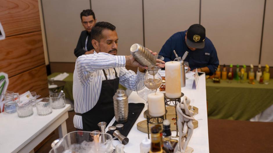 Deliciosas bebidas son presentadas año con año en la Feria Alimentaria. (Foto: George Rojas/Soy502)