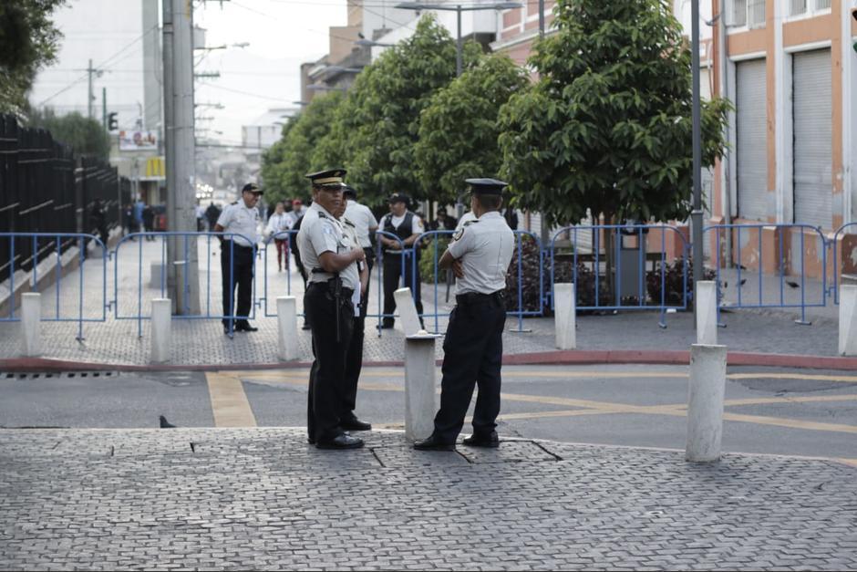 Varias calles en la zona 1 están cerradas por la Sesión Solemne en el Congreso. (Foto: Archivo/Soy502)
