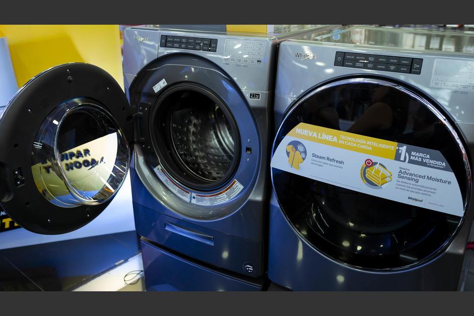 Las nuevas lavadoras de carga frontal Whirpool poseen grandes innovaciones. (Foto: George Rojas/Soy502)
