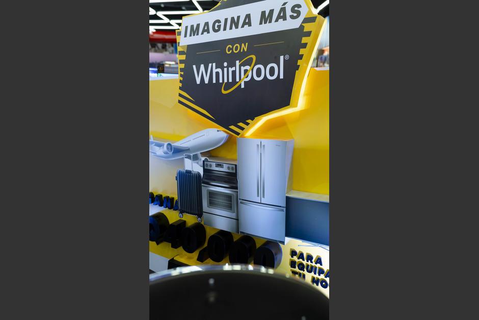 Grandes premios instantáneos pueden ser tuyos al adquirir productos Whirpool en Tiendas Max. (Foto: George Rojas/Soy502)