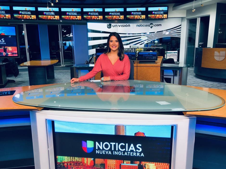 Mariajosé Paiz tiene en mente llegar a ser una presentadora que brille a nivel internacional. (Foto: Mariajosé Paiz)