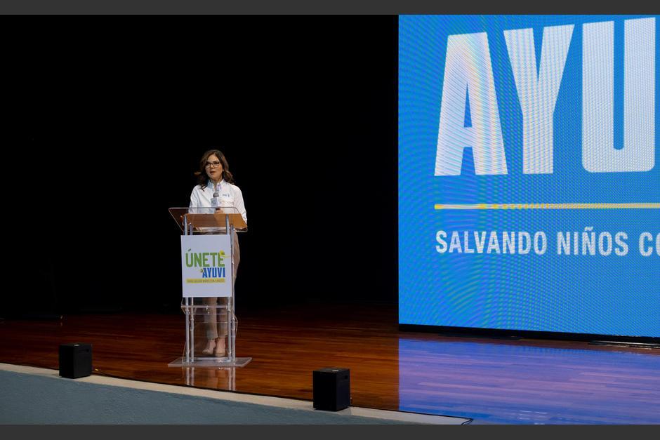 Mariana López, presidente de la Junta directiva de Fundación AYUVI, habló sobre los logros en estos 19 años. (Foto: George Rojas/Soy502)