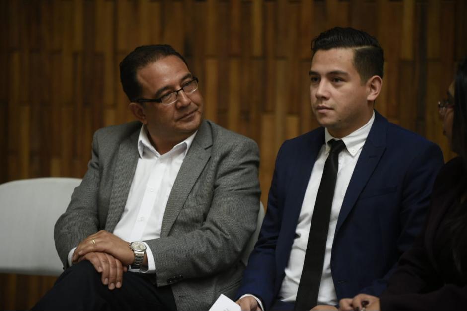 Los dos familiares del presidente Jimmy Morales resultaron absueltos en el juicio que se realizó en su contra. (Foto: archivo/Soy502)