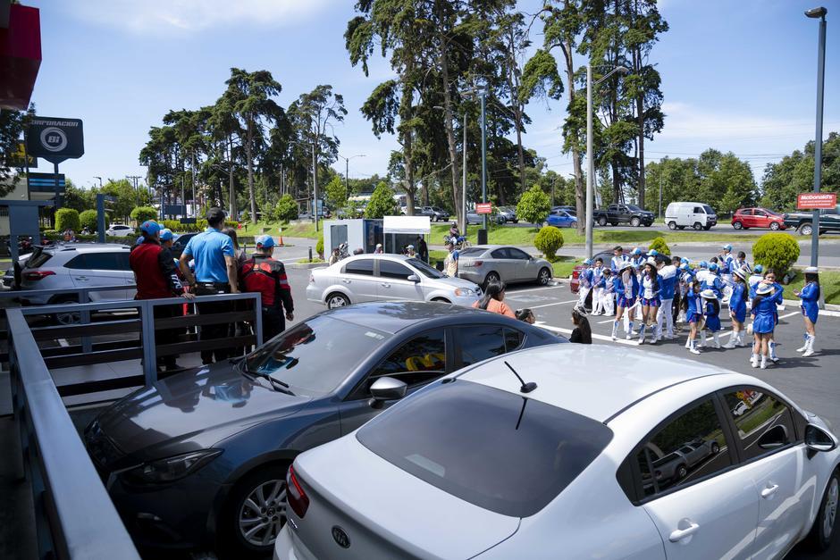 Una actividad especial se vivió en Condado Concepción. (Foto: George Rojas/Soy502)