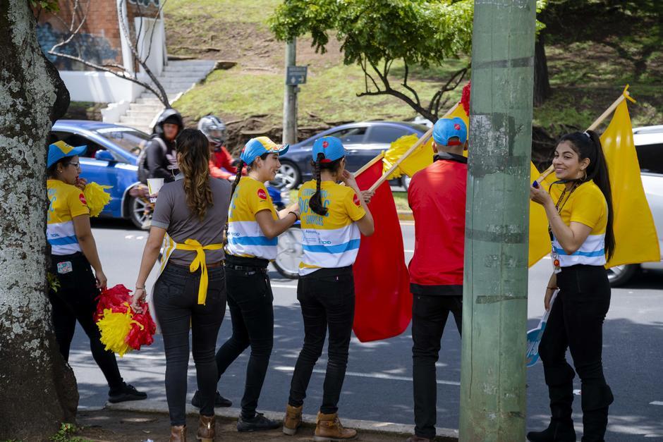 Distintas actividades amenizaron al McDonald's de Boulevard Liberación. (Foto: George Rojas/Soy502)