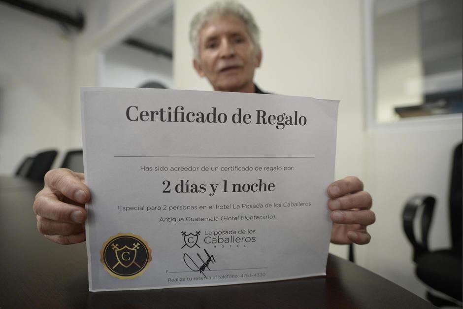 Edgar Sagastume denunció la estafa de la que fue víctima junto a su esposa. (Foto: Wilder López/Soy502)