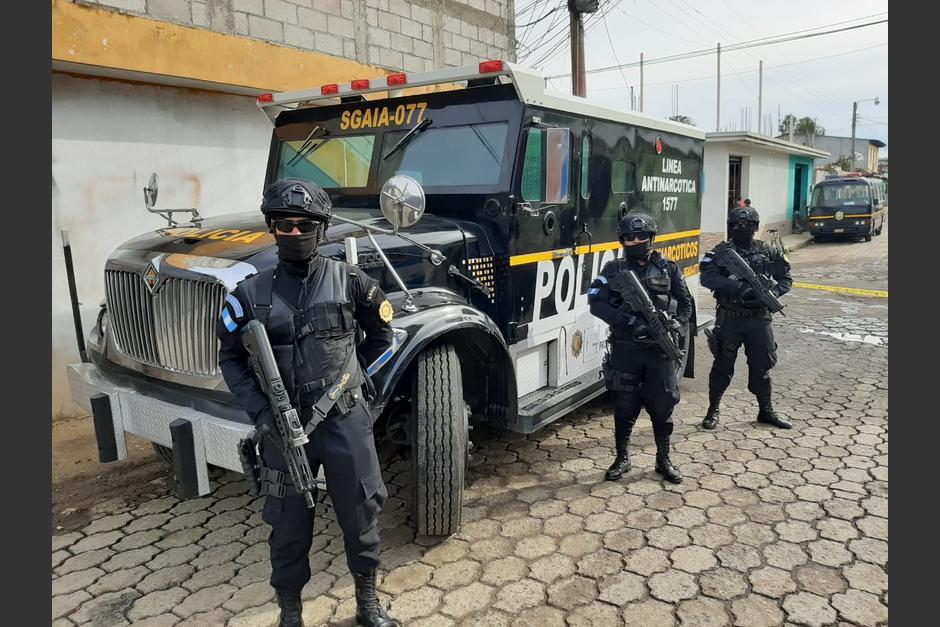 La Policía presentó su nuevo carro blindado, el cual usará en la lucha contra el narco. (Foto: PNC)
