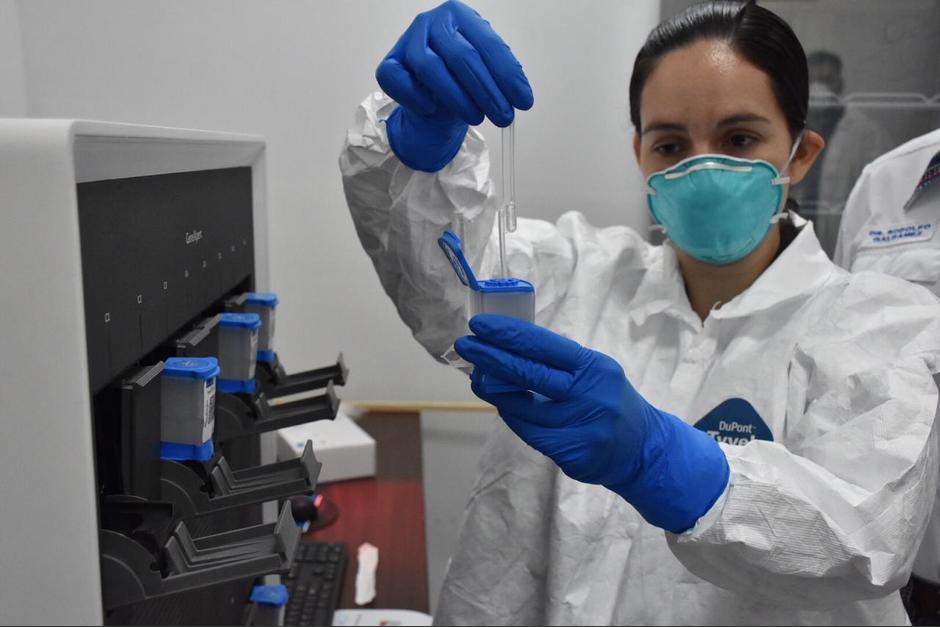El Hospital Temporal del Parque de la Industria se convirtió en el primero en hacer pruebas de covid-19, adicional al Laboratorio Nacional de Salud. (Foto: Facebook Ministerio de Salud)