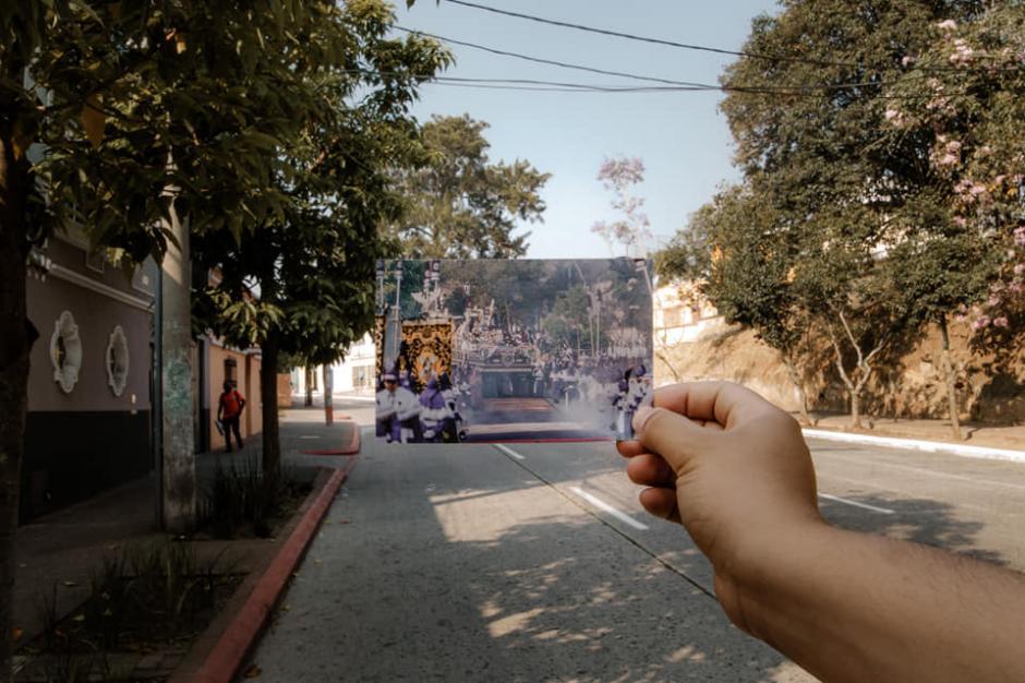 La procesión sale cada Jueves Santo y recorre la zonas 1 y 2. (Foto: Kevin Rustrián-Víctor González y Wilder Méndez)