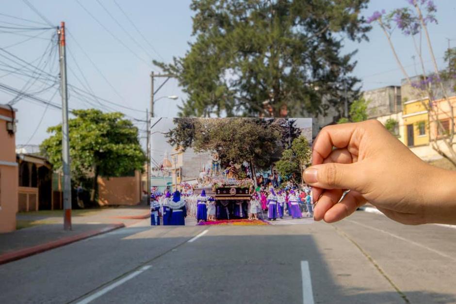 Es considerada una de las primeras imágenes que salió en procesión. (Foto: Kevin Rustrián-Víctor González y Wilder Méndez)