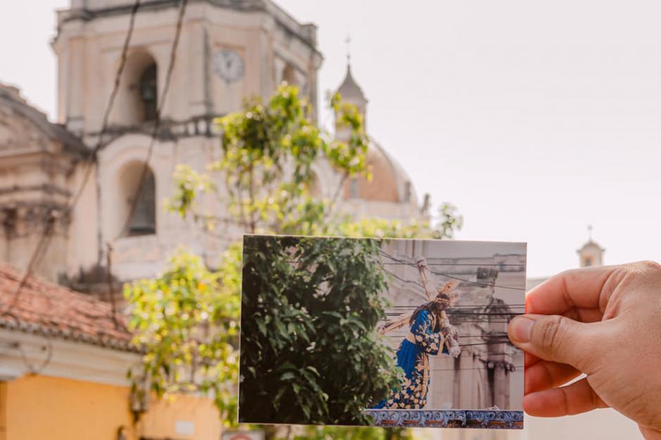 La imagen se conoce como el Nazareno de la Serena Mirada. (Foto: Kevin Rustrián-Víctor González y Wilder Méndez)
