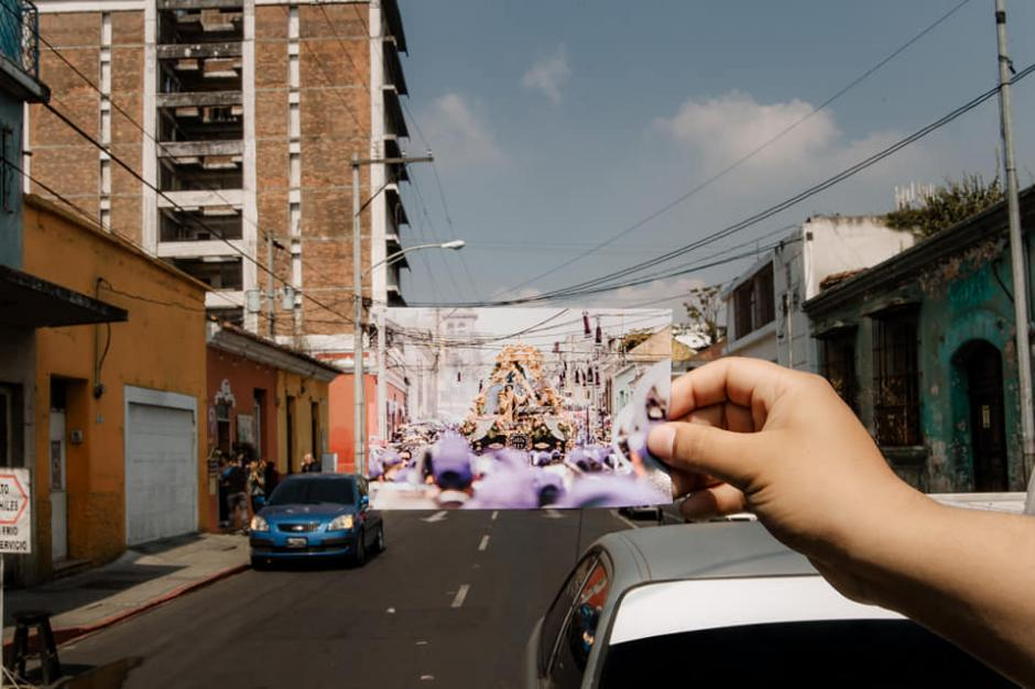 En 2019 la procesión recorrió las calles cercanas a la Merced. (Foto: Kevin Rustrián-Víctor González y Wilder Méndez)