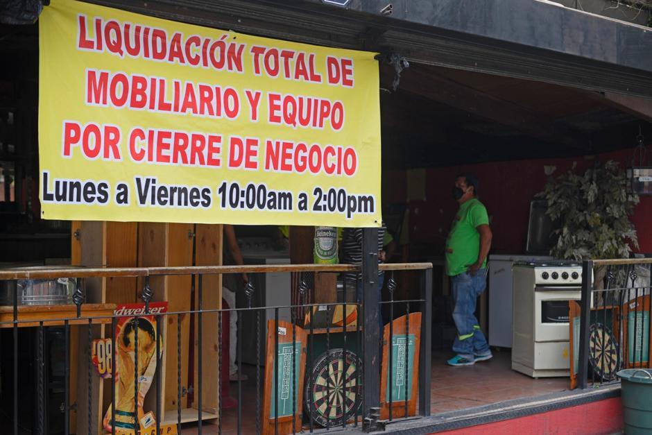 Cheers Sport Bar aceleró el cierre de operaciones debido a la crisis provocada por el coronavirus. (Foto: Wilder López/Soy502)