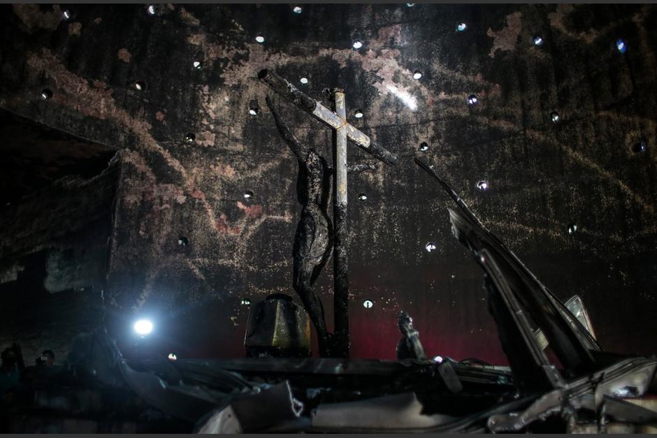 La iglesia católica ha sido blanco de varios ataques. (Foto: AFP)