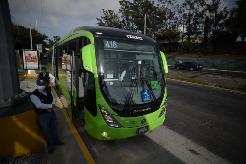 La Línea 7 beneficiará a usuarios de la zonas 1, 3, 7 y 11. (Foto: Wilder López/Soy502)