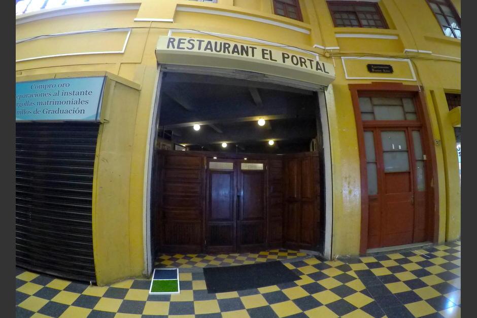 El Portalito es uno de los iconos del Centro Histórico de Guatemala. (Foto: Wilder López/Soy502)