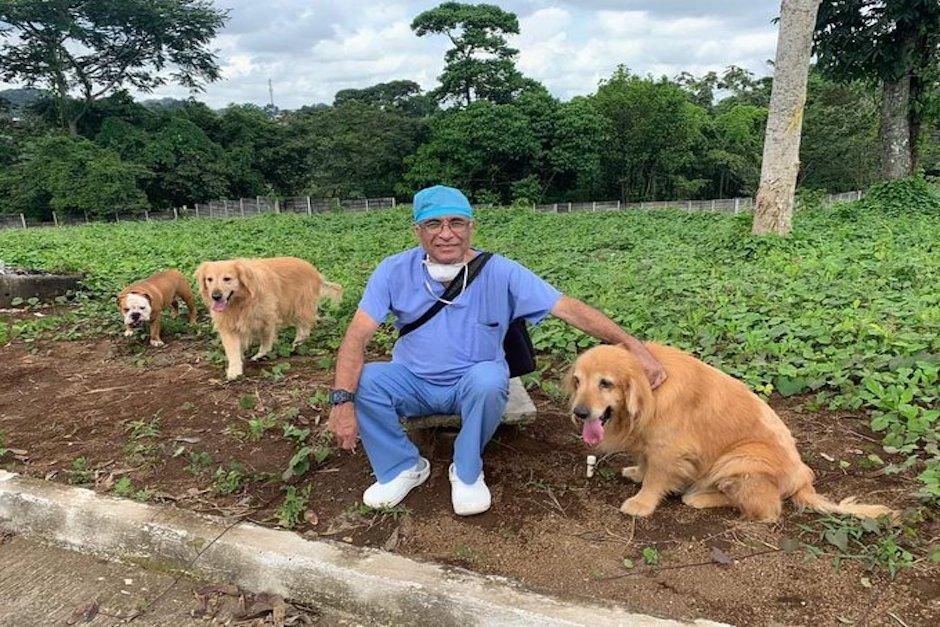El médicoJacob Crocker, quien era originario de Quetzaltenango (Foto: Facebook)