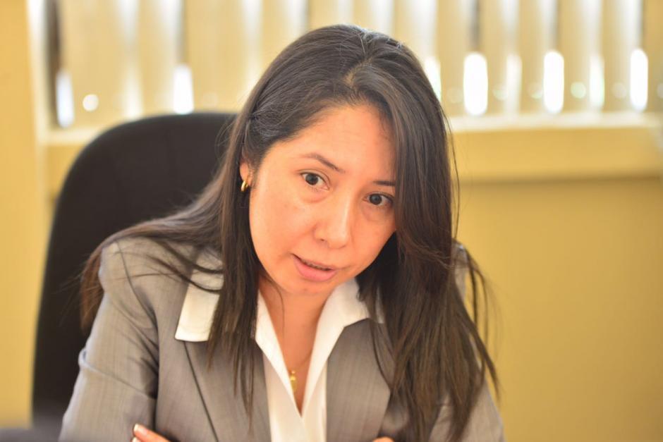 La jueza Erika Aifán tiene casi 20 años de carrera judicial. (Foto: archivo/Soy502)