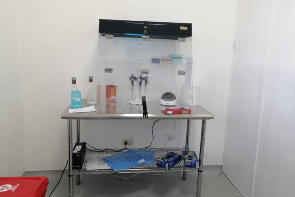 En la implementación del laboratorio se invirtió más de 1 millón de quetzales. (Foto: MSPAS)