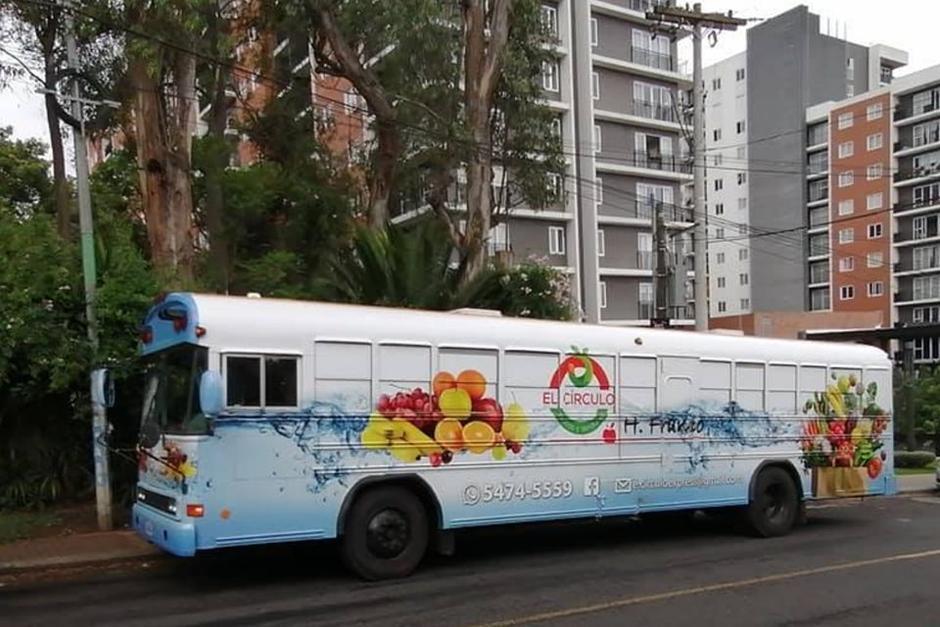 Un bus lleva las verduras a tu casa. (Foto: El círculo Express)
