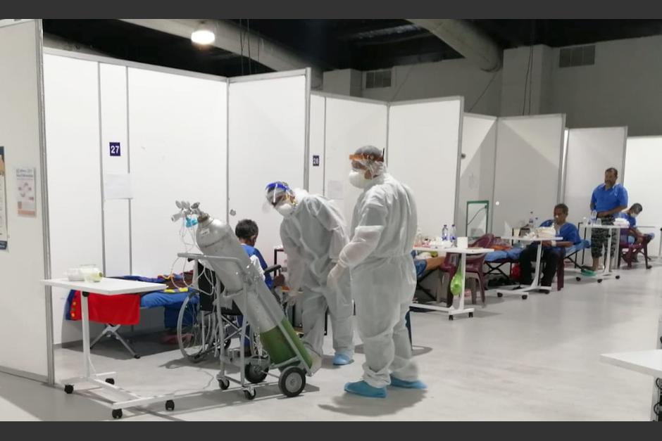 Paciente con Covid-19 escribe a través de Twitter una especie de diario sobre lo que vive en el Hospital Temporal del Parque de la Industria. (Foto: Archivo/Soy502)