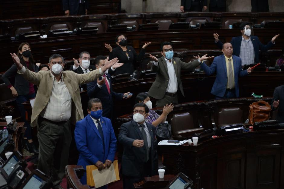 Los diputados opositores buscaban que este jueves iniciara la elección de magistrados. (Foto: Wilder López/Soy502)