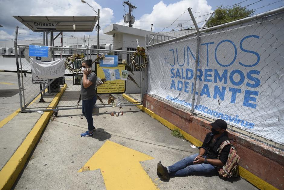 La pandemia del Covid-19 desnudó la situación del Sistema de Salud. (Foto: Wilder López/Soy502)