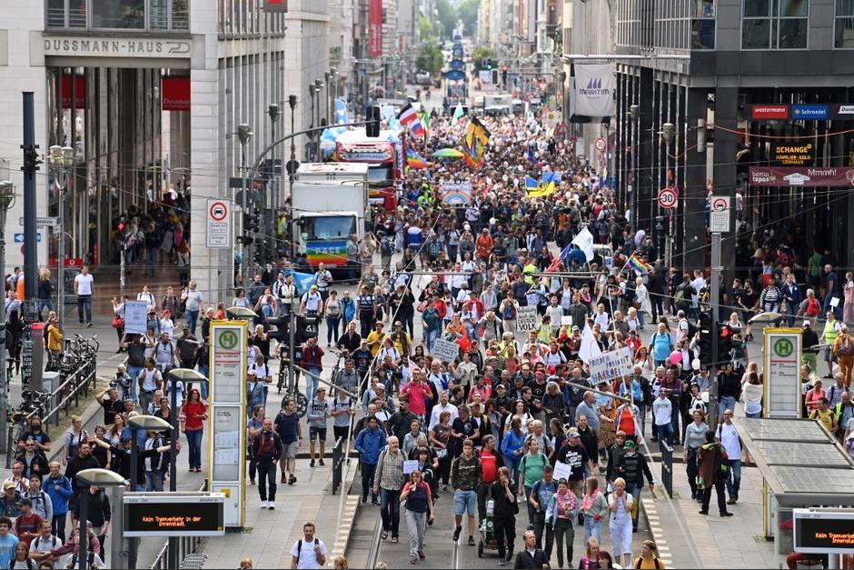 Habrá otra marcha contra el uso de cubrebocas — Berlín