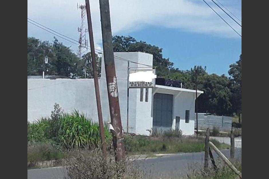 Autohotel era utilizado para explotar sexualmente a dos menores de edad. (Foto: MP)