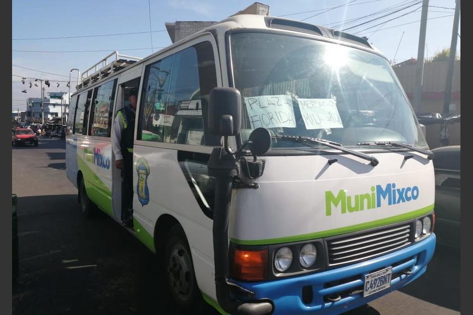 Los microbuses reanudarían sus servicios entre el martes y miércoles de esta semana. (Foto con fines ilustrativos: Archivo/Soy502)