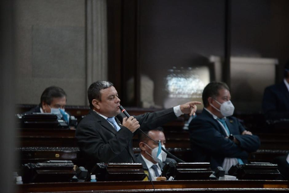 """El diputado Rubén Barrios calificó de """"comelón de frijoles"""" a los opositores al Presupuesto 2021. (Foto: Archivo/Soy502)"""