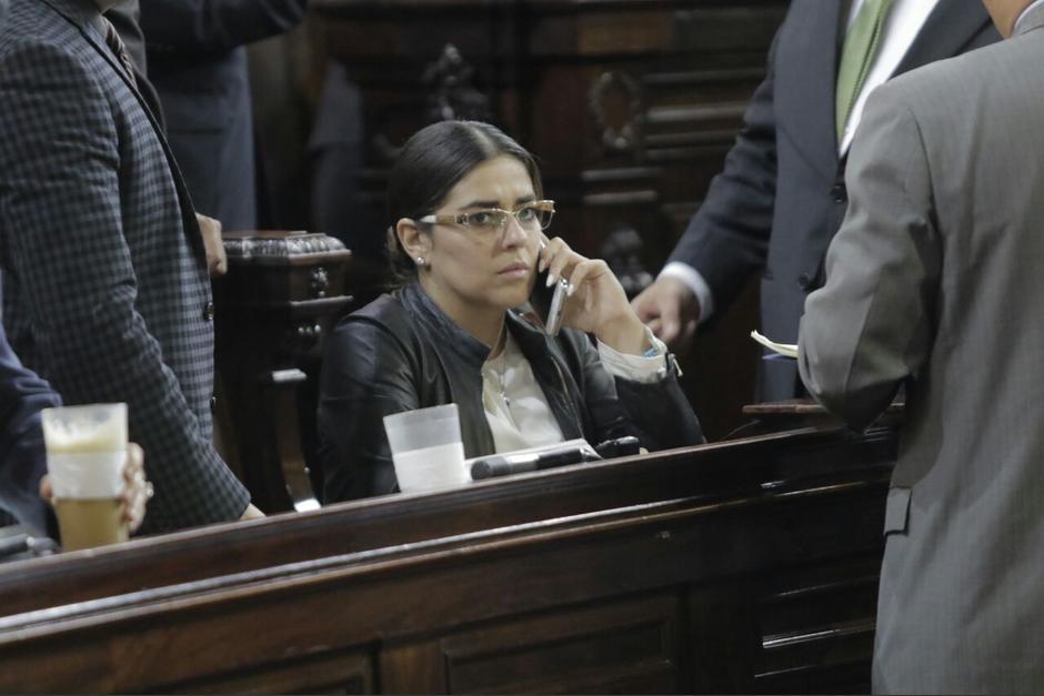 Sandoval quiere la jefatura de la bancada FCN, pero la dirigencia del partido no la respalda. (Foto: Archivo/Soy502)