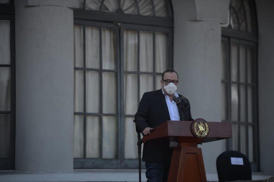 La Presidencia confirmó la conferencia de prensa esta mañana. (Foto: Archivo/Soy502)