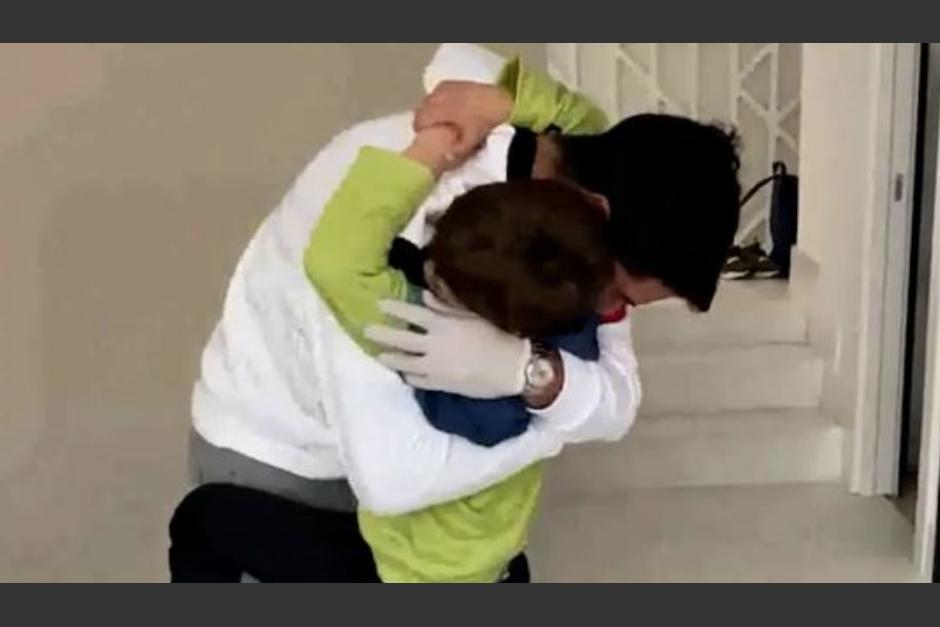 Luis Suárez vuelve a los entrenamientos