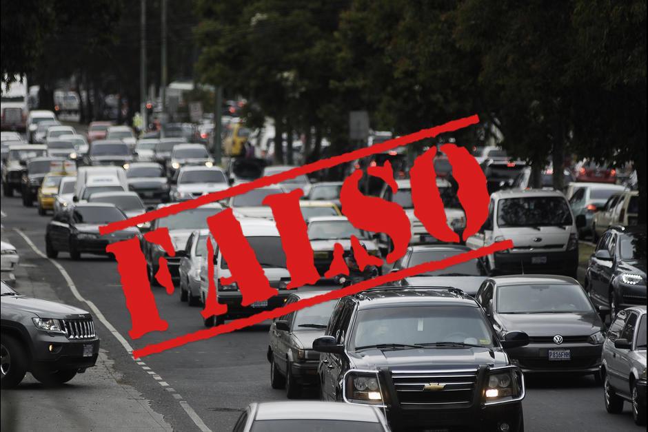 Este martes salió publicado en el Diario Oficial la restricción al transporte pesado. (Foto: Archivo/Soy502)