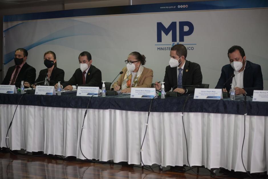Así respondió Consuelo Porrras a la pregunta acerca de la denuncia realizada al ex fiscal Andrei González. (Foto: Wilder López/Soy502)