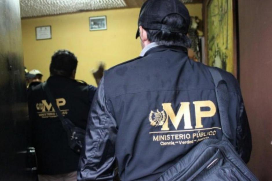 El MP realiza allanamientos en el departamento de Guatemala. (Foto: Archivo/Soy502)